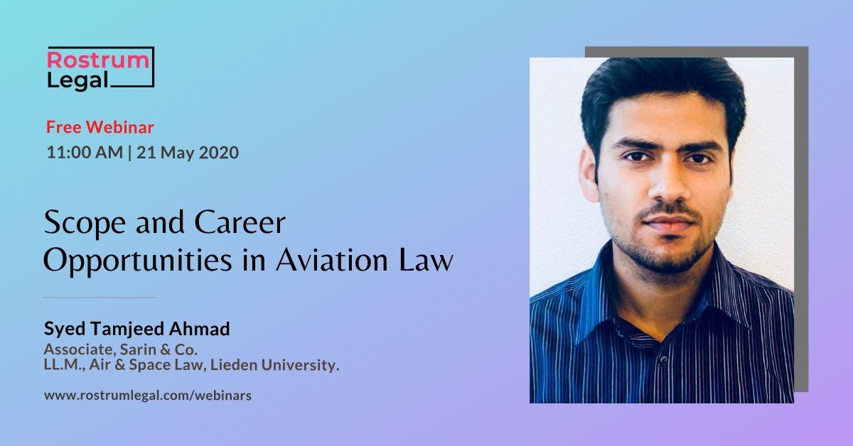 RostrumLegal Aviation Law Webinar